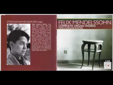 Mendelssohn - 6 Organ Sonatas Op.65