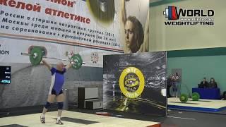 КАЗАДОЙ/KAZADOY (77,М-80) 41-45-47/46-51х-51. Russian Championships Masters 02-06.03.2016.