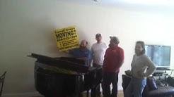 ASHEVILLE MOVING COMPANY MOVE A GRAND PIANO in North Carolina