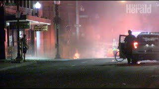 Riots in Boston, looting on Freedom Trail after George Floyd march deteriorates