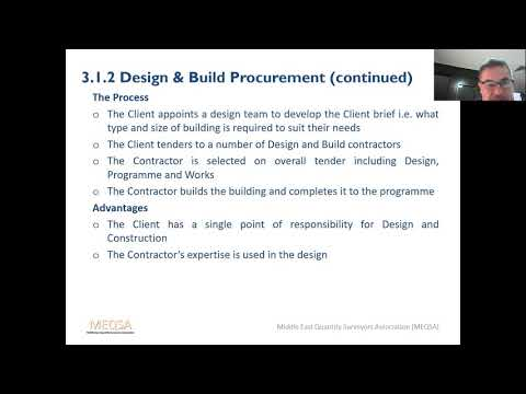 MEQSA Webinar 5 - Procurement and Tendering for APC Preparations