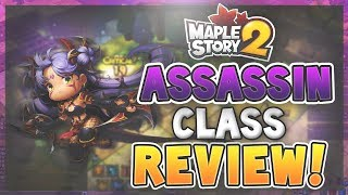 MapleStory 2 - Assassin Class Review