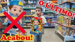 Boneco do Luccas Neto! Compramos o último boneco do Luccas Neto da loja