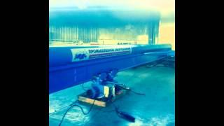 видео Кран-балка электрическая подвесная  2 тонны 6 метров. Монтаж и установка