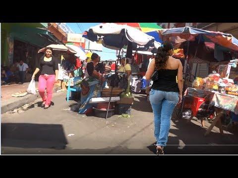 Santa Ana , El Salvador ,,PASANDO EL MERCADO EL 24 DE DICIEMBRE  2da parte
