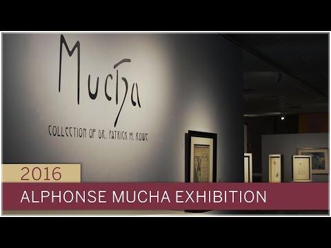 Alphonse Mucha exhibition at FSU MOFA