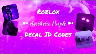 ROBLOX | Welcome to Bloxburg: Aesthetic Purple ID Codes