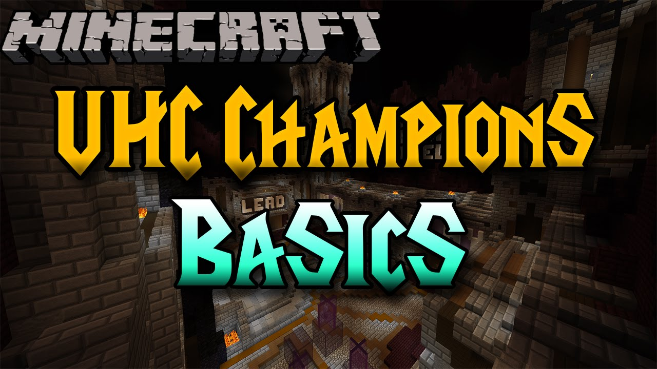 Hypixel UHC Champions! Basic Guide!