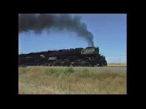 UP 3985 Chase Cheyenne to North Platte - September 18, 1990