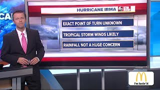 Hurricane Irma taking aim at Florida, possibly Carolinas   Thursday 9AM update with Greg Dee