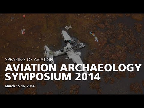 Aviation Archaeology Symposium 2014: Dave and Lindsey Goss