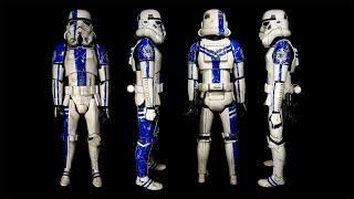 Building Bandai's 1/6 Star Wars Stormtrooper Commander