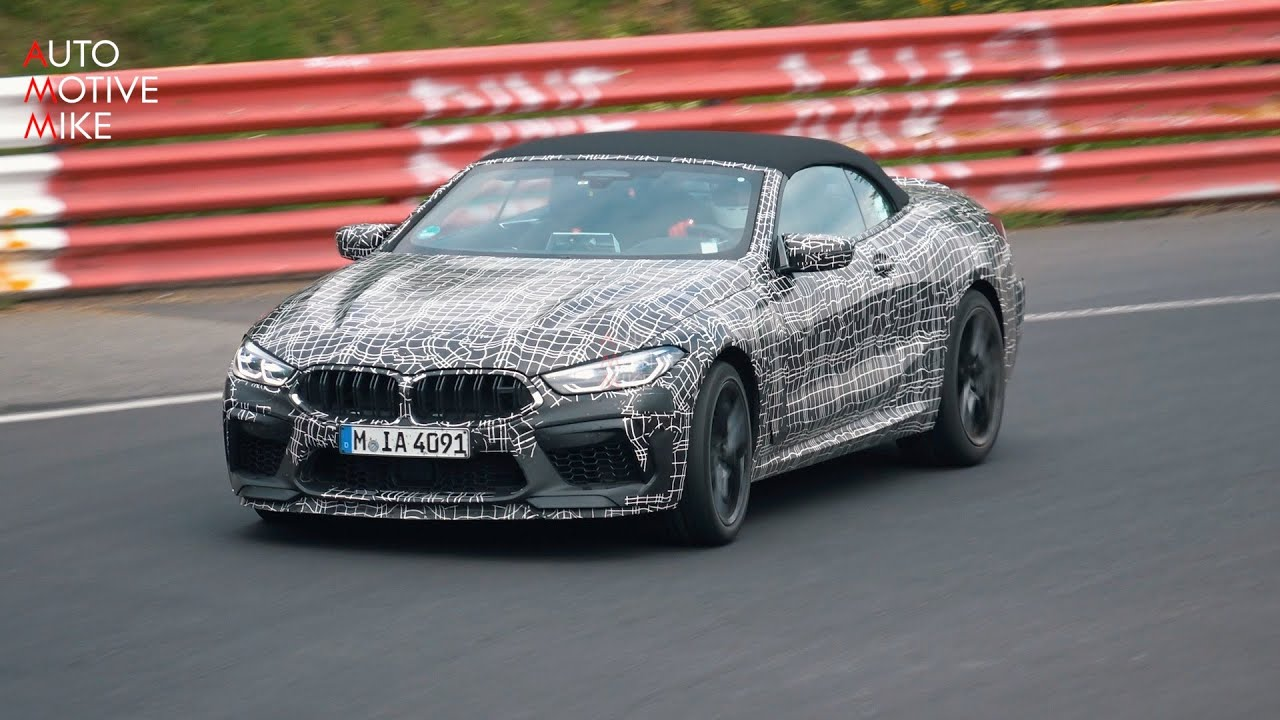 Is Bmw Testing A M8 Cs At The Nürburgring Youtube