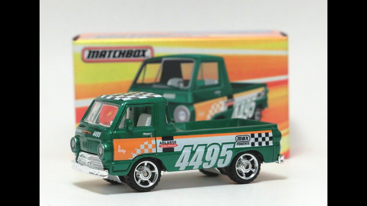 Bmw Pick Up Truck >> BEST OF MATCHBOX - '66 DODGE A100 PICKUP - YouTube