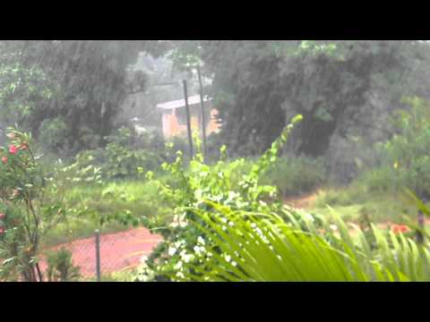 Jamaican Summer Storm Chocolate Hole,Junction, St Elizabeth