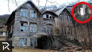10 Haunted Houses YOU CAN&#39T ESCAPE From