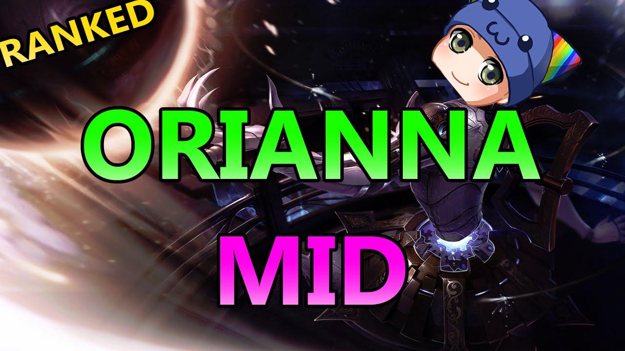how to play orianna mid