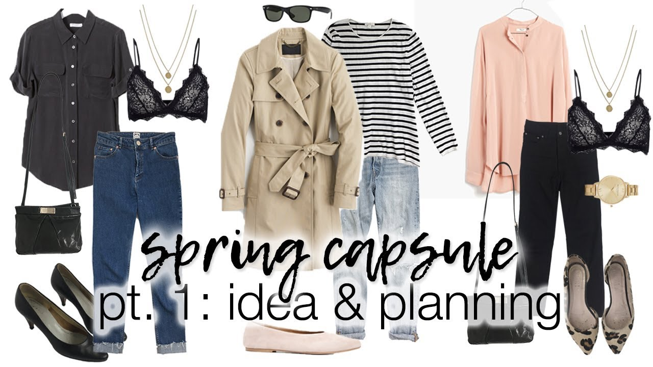[VIDEO] - Spring capsule wardrobe | Part 1: visual idea & planning 7