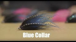"Tying a Vancouver Island Steelhead Intruder Fly ""Blue Collar"" with Duncan Lewis"
