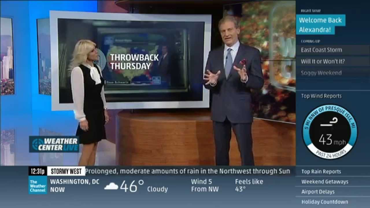 Alexandra Steele returns to The Weather Channel!