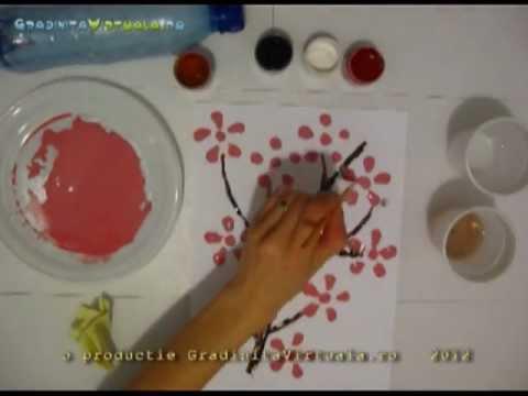 Planse De Primavara Pt Gradinita Crenguta De Cires