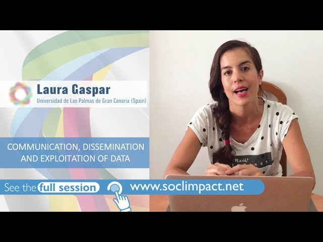 Video Highlights Webinar 'Communication, dissemination and explotation of data'