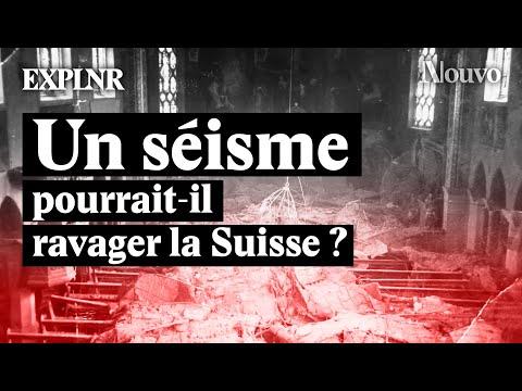 Un gros tremblement de terre : possible en Suisse.