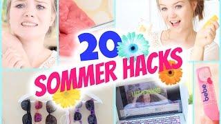 20 SUMMER LIFE HACKS | Mückenstiche, Snacks & Praktische Tipps
