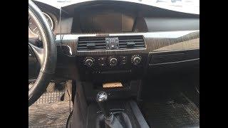 """BMW E60 530d """"Крутёлки"""" от двухзонного климата"""