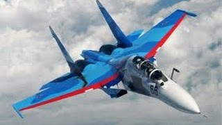 AWESOME SOUND Rus Military Sukhoi Su-27 & Su-25 Military Aircraft
