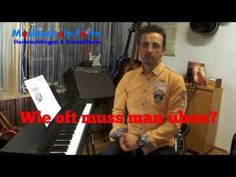 Vorstellung Klavierunterricht