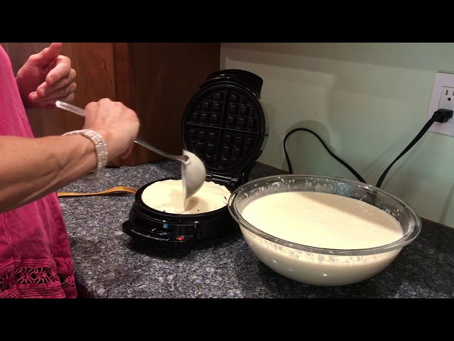 How To Make Gluten Free Dairy Free Oil Free Waffles