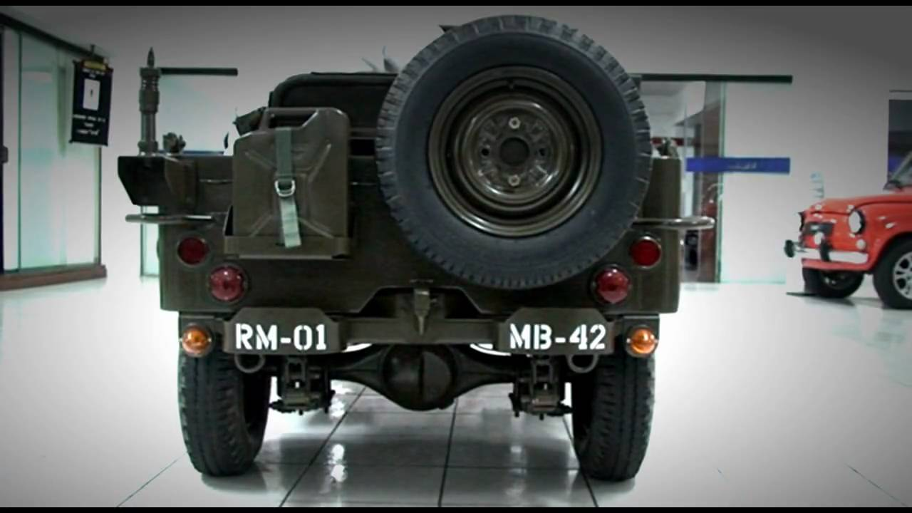 My Car Collection 1944 Mini Jeep Willys Youtube