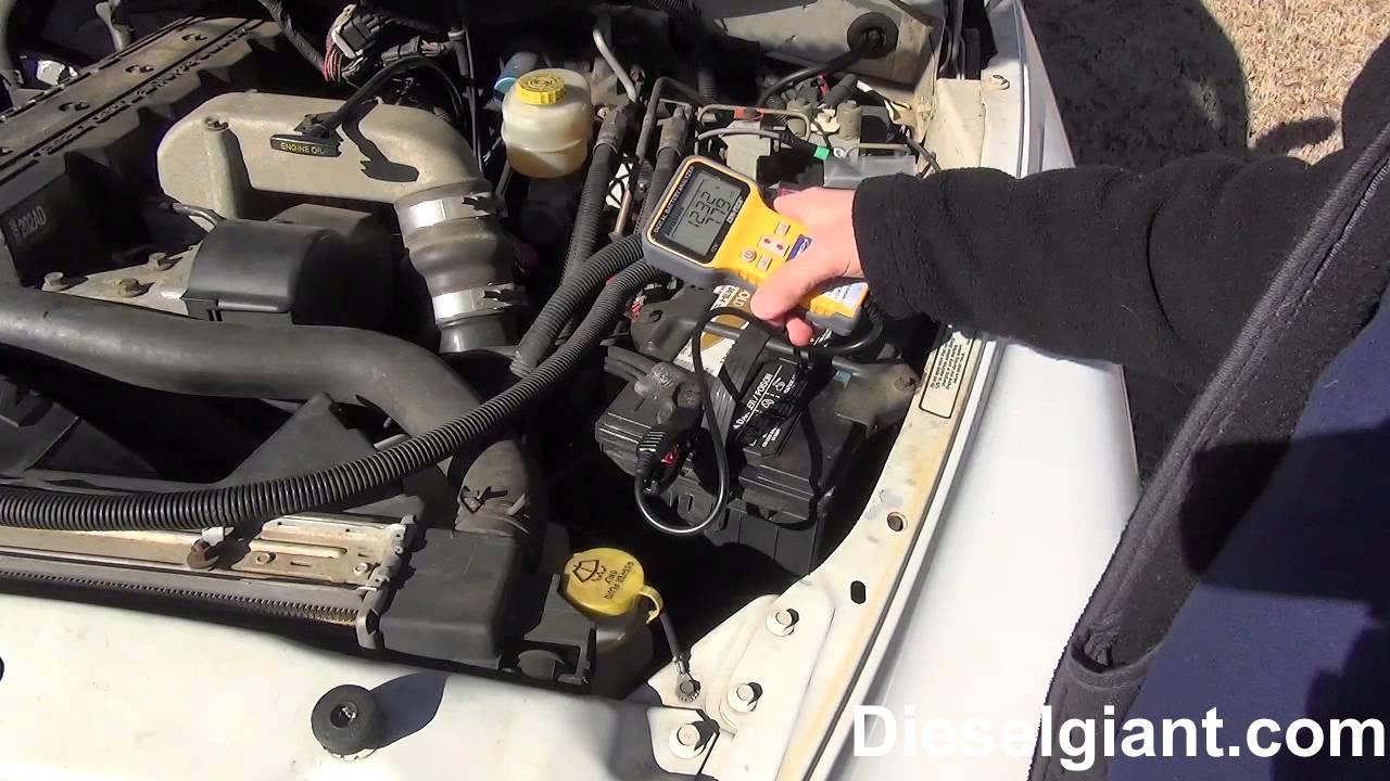Dodge Ram 2500 Diesel Bad Battery Diagnosis  YouTube