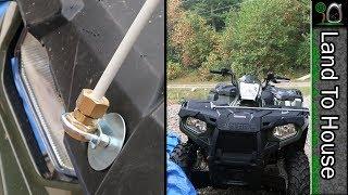 ATV Spider Web Catcher Stick