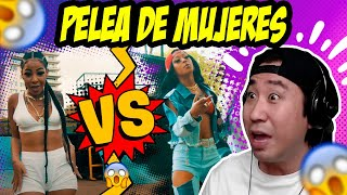 COREANO REACCIONA A YAILIN VS LA PERVERSA EN FLOW 90 REMIX 😱😂