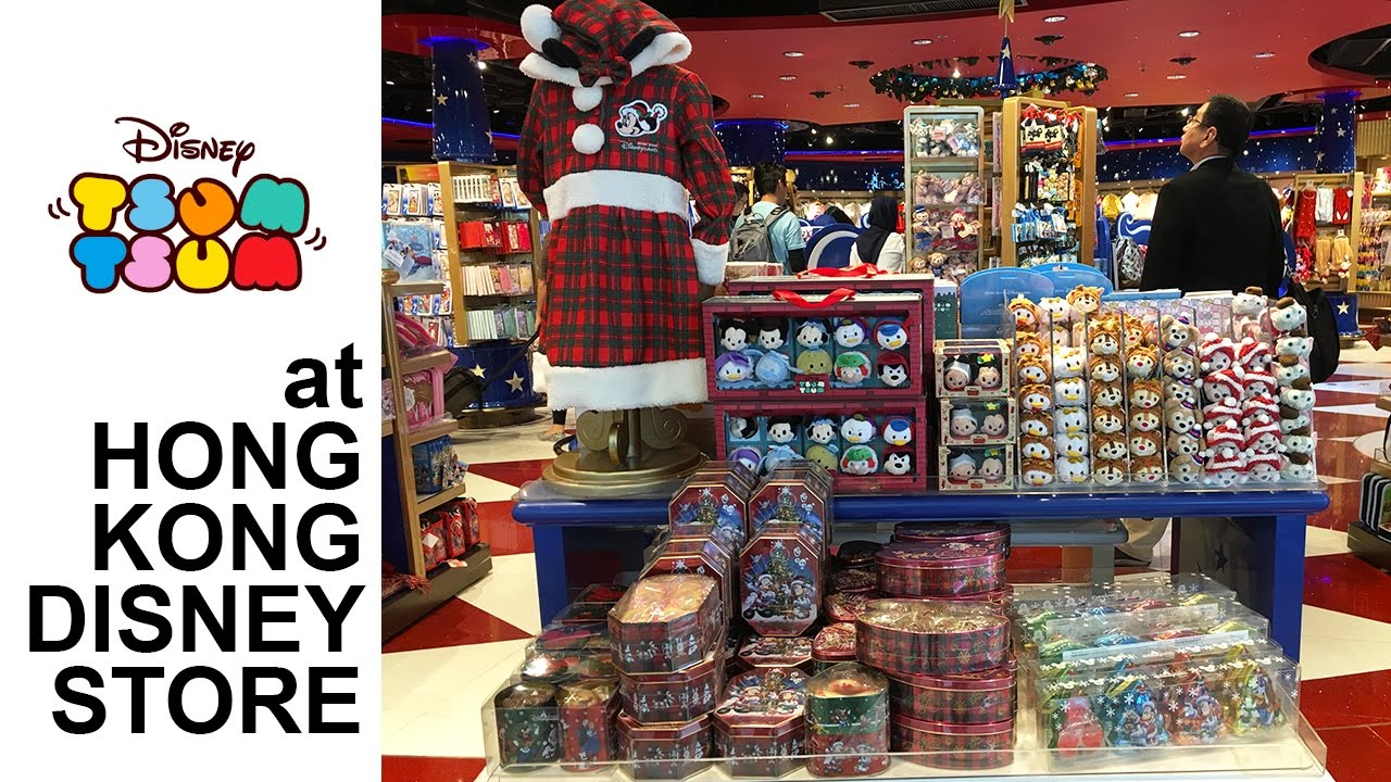 Tour Every Tsum Tsum Product At The Hong Kong Disney Store
