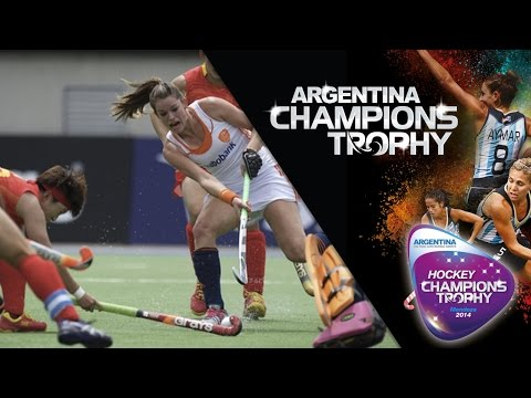 Netherlands vs China - Women's  Hockey Champions Trophy 2014 Argentina Group A [29/11/2014]