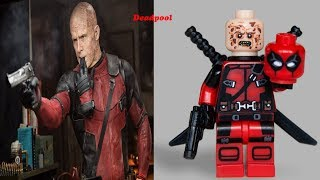 lego Deadpool 2 - Minifigures VS Movie etc., Marvel  Deadpool 2 As Lego