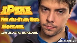 xPeke, The All-Star God Montage - 2016 All-Star Barcelona