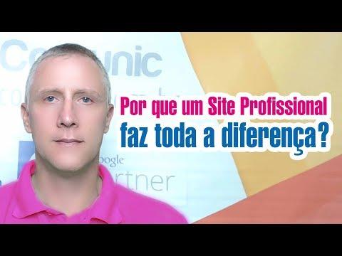Criação de Sites Profissionais Por que um site profissional faz toda a diferença