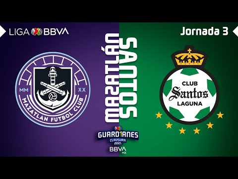 Mazatlan FC Santos Laguna Goals And Highlights