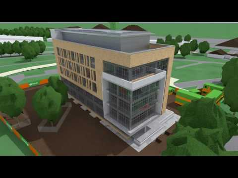 Animation of construction of Greenway Hub at DIT Grangegorman