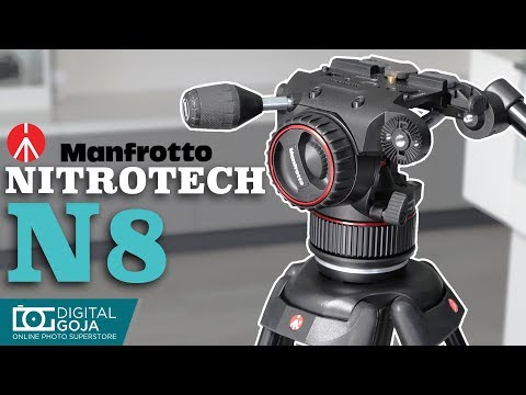 Manfrotto Nitrotech N8 Video Head | Overview