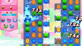 Candy Crush 3186 No booster 3 Stars First Fun in Frozen Fishland