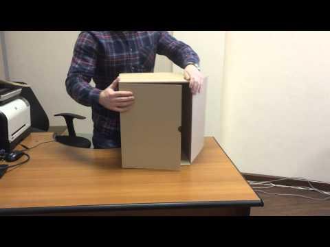 Как собрать архивный короб со съемной крышкой