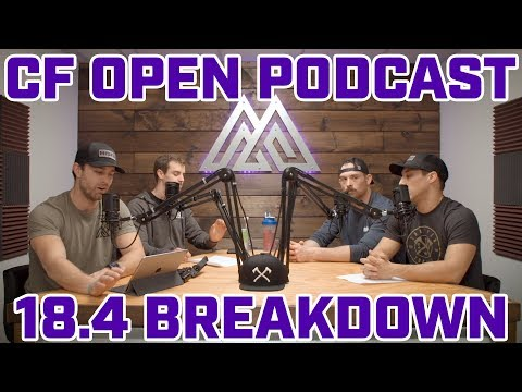 Crossfit Games Open 18.4 Announcement Podcast - Episode 41.4