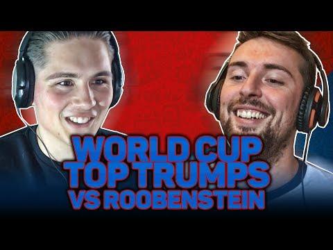 WORLD CUP TOP TRUMPS Vs Roobenstein
