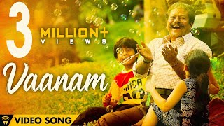 The Life Of Power Paandi - Vaanam (Official Video) | Power Paandi | Dhanush | Sean Roldan