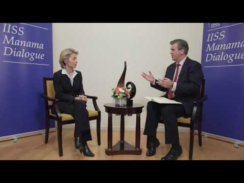 IISS Manama Dialogue 2016: Ursula von der Leyen, Minister of Defence, Germany